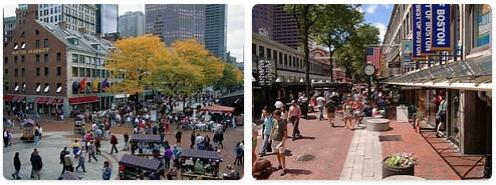 Shopping in Boston, USA
