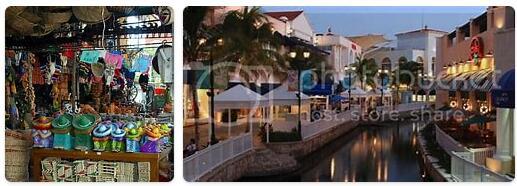 Shopping in Cancún, Mexico