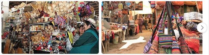 Shopping in Cusco, Peru