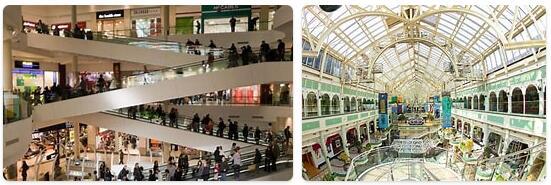 Shopping in Dublin, Ireland