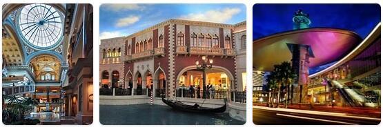 Shopping in Las Vegas, USA