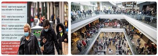 Shopping in London, U.K.