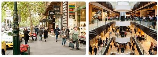 Shopping in Melbourne, Australia