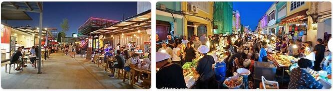 Shopping in Phuket, Thailand