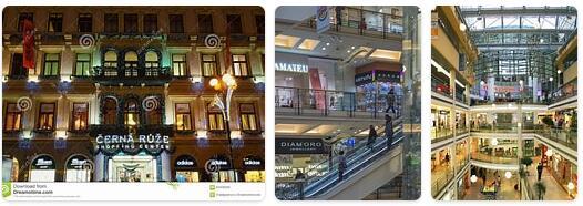 Shopping in Prague, Czech Republic