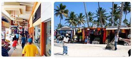 Shopping in Punta Cana, Dominican Republic