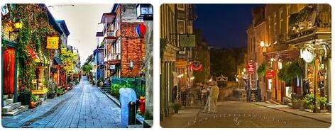 Shopping in Quebec City, Canada