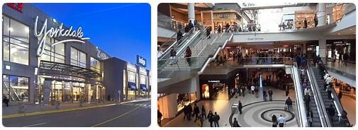 Shopping in Toronto, Canada