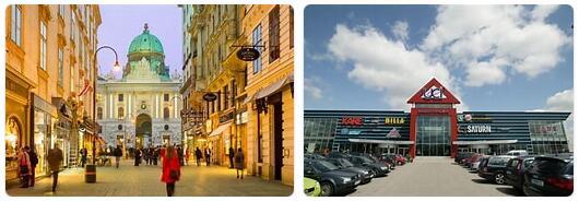 Shopping in Vienna, Austria