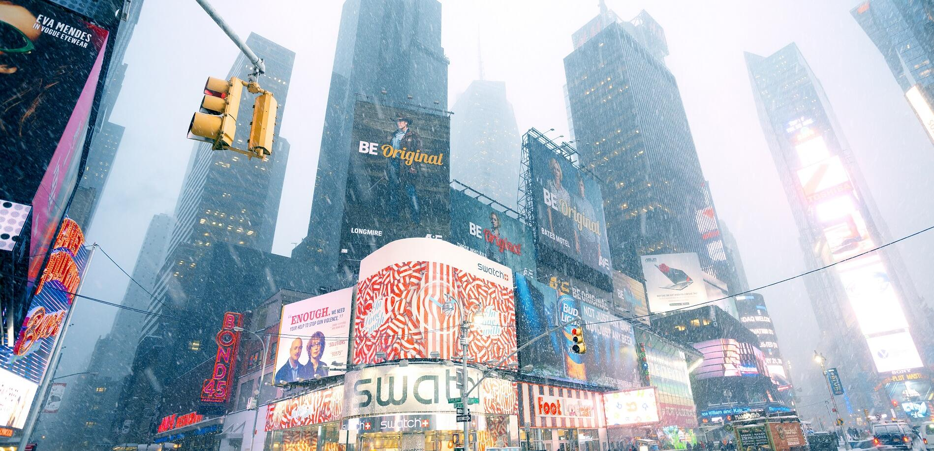 Best time to travel to New York